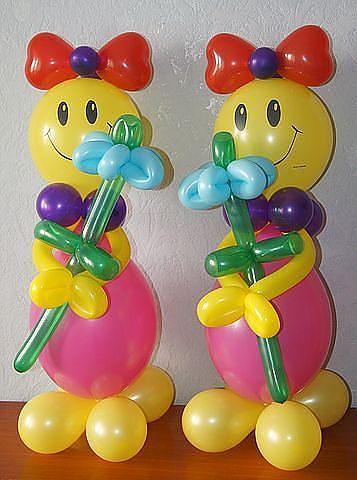 Поделки из воздушных круглых шаров своими руками